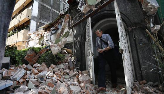 Aseguradoras adeudan 40% de pago por daños del sismo
